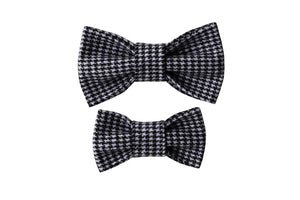 Classic Houndstooth Bow Tie