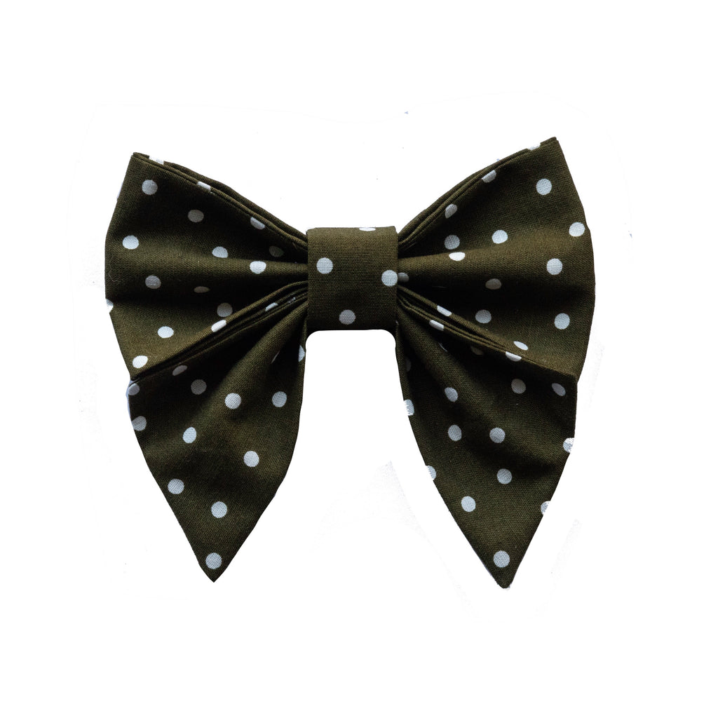 Olive Sailor Bow