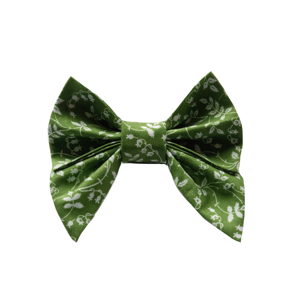 Olive Vine Sailor Bow