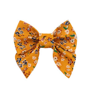 Mustard Blossom Sailor Bow