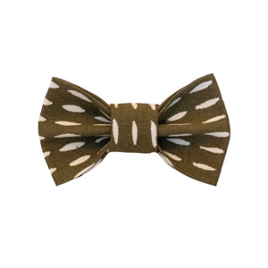 Olive You Bow Tie