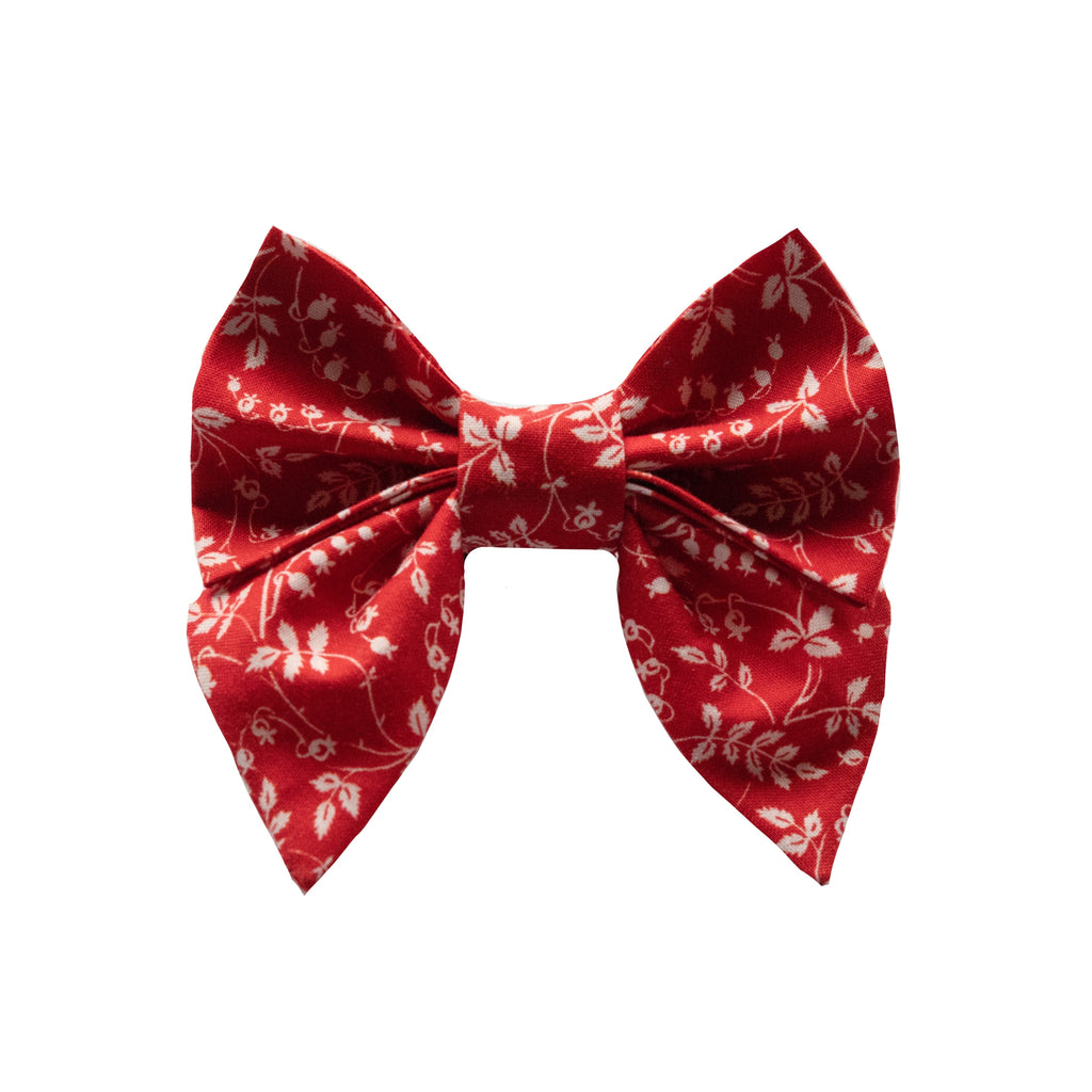 Red Vine Sailor Bow