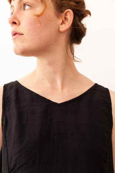 Metta Ebony Silk Top