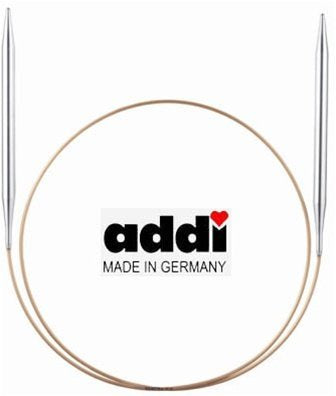 addi circular knitting needles available at Calico and Ivy