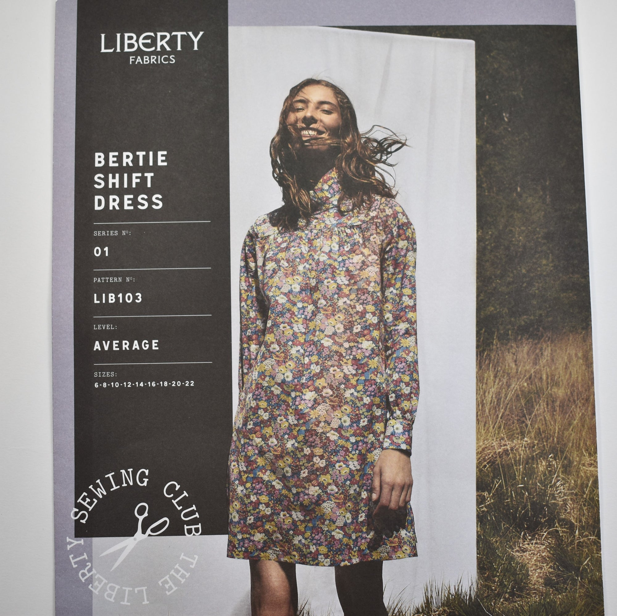 Liberty Bertie Dress Pattern