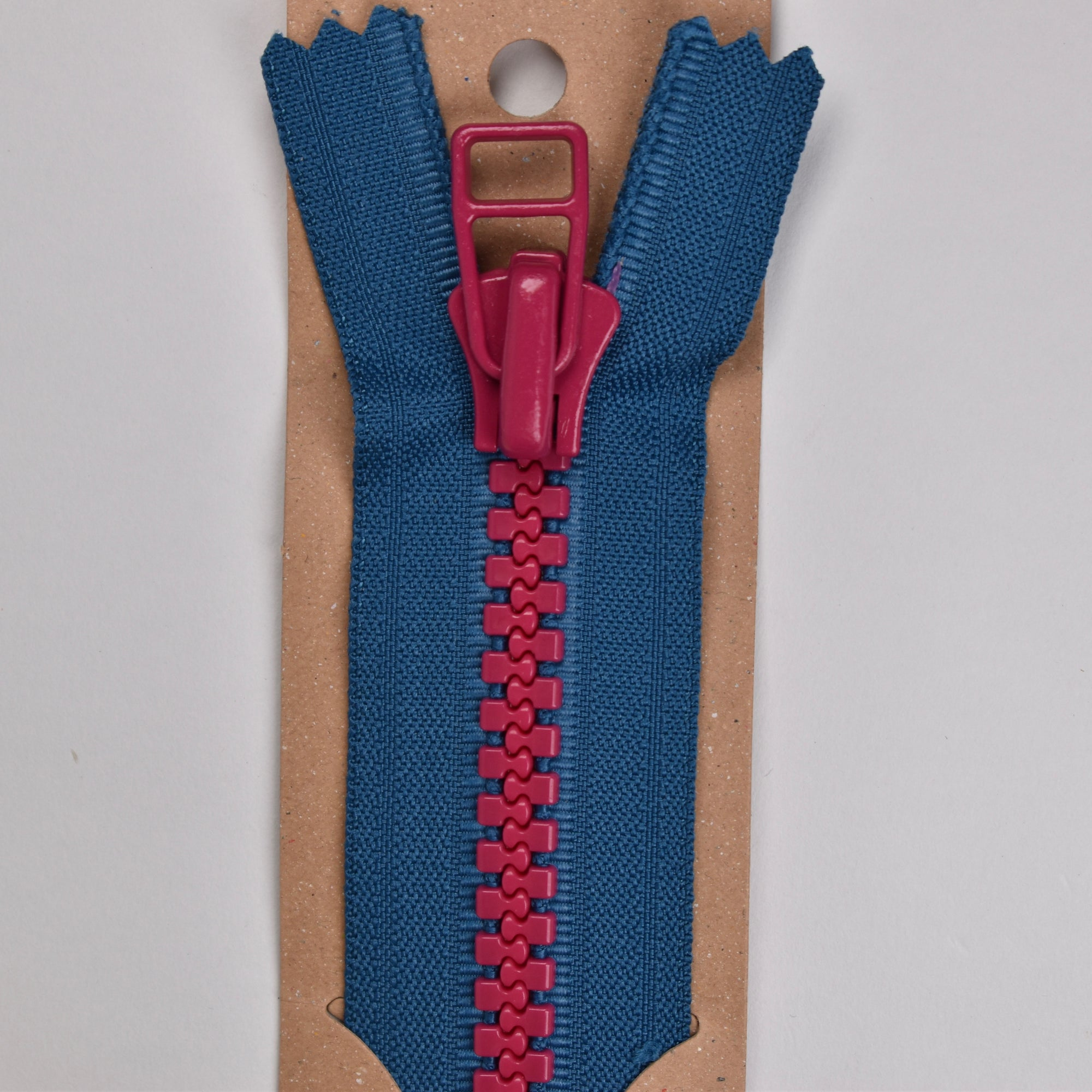 Colour Cocktails Zip (28cm) with Square fastener