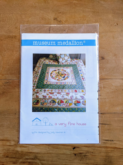 Museum Medallion by Judy Newman