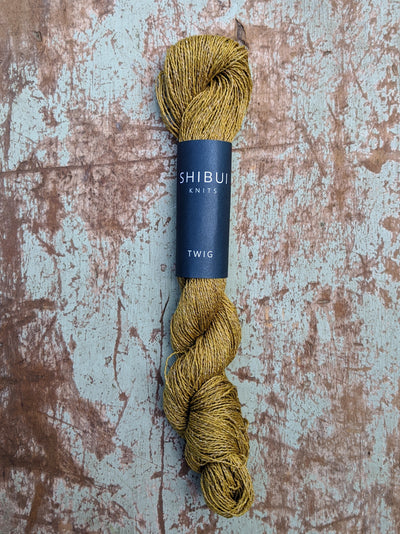 Shibui Twig yarn at Calico and Ivy
