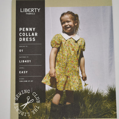 Liberty Penny Collar Dress Pattern