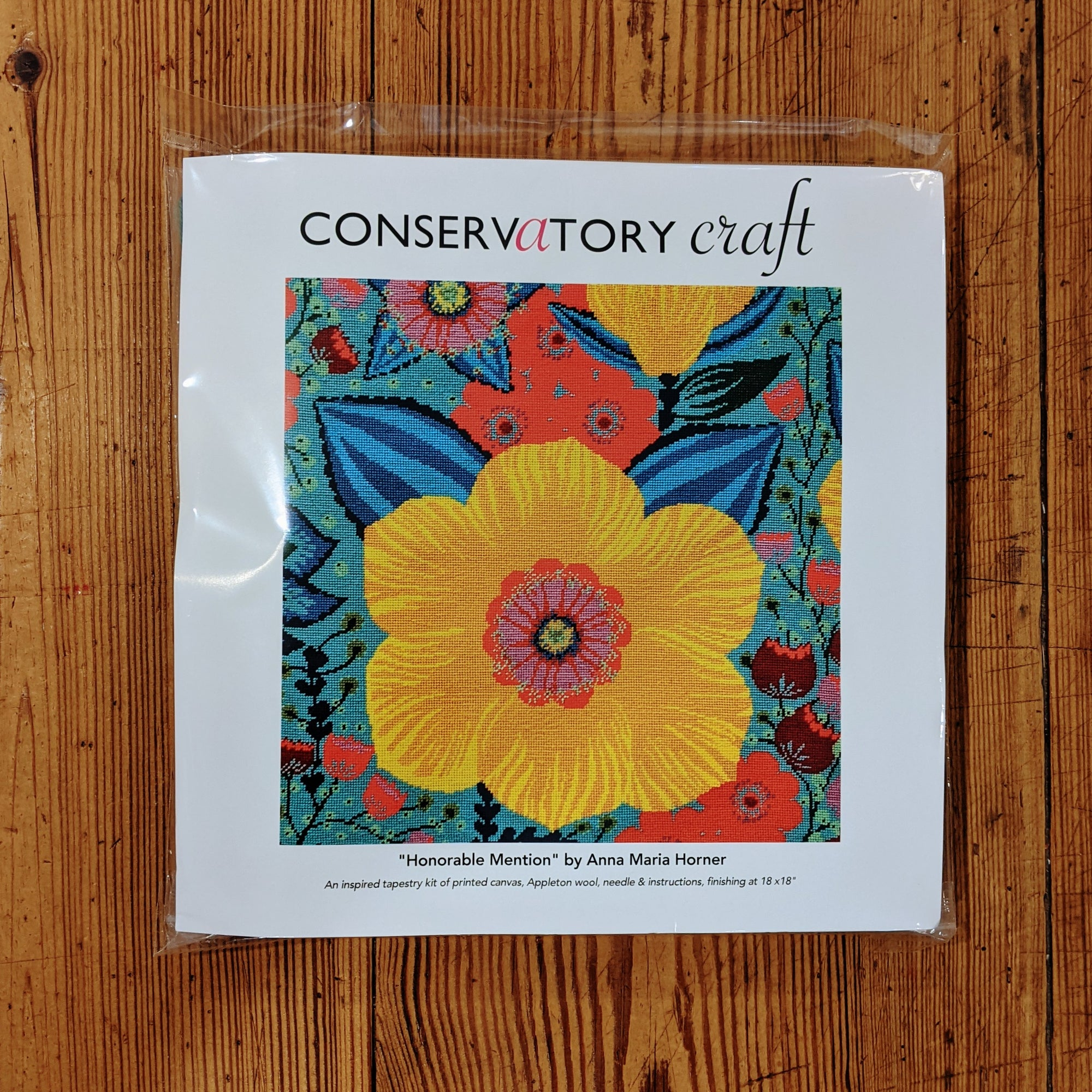 "Conservatory Craft ""Honorable Mention"" Tapestry Kit"