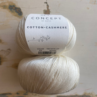 Cotton-Cashmere 5ply Offwhite