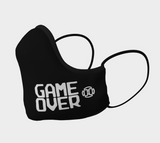 Game Over Mask - Black