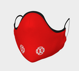 00 LvL Logo  Mask - Red