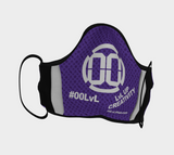 00 LvL Logo  Mask - Purple
