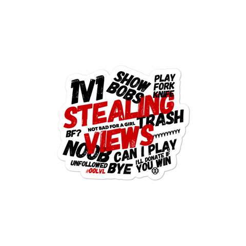 Stealing Views Stickers - 00LvL