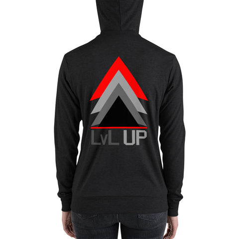 LEVEL UP Hoodie Womens - 00LvL