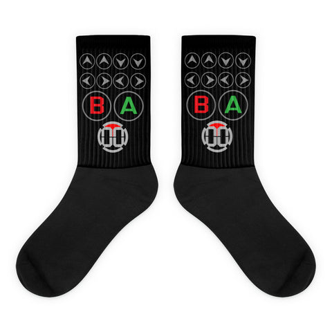 Cheat Code Socks - 00LvL