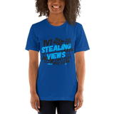 Stealing Views Tee Baby Blue - 00LvL