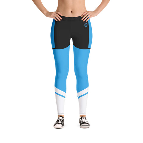 Sky Blue Lynnx Leggings - 00LvL