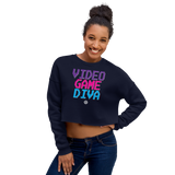 Video Game Diva Crop Sweatshirt