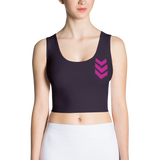 Battle Rose Crop Tank