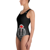 00 LvL Logo One-Piece Swimsuit