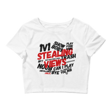 Stealing Views Crop Tee - 00LvL