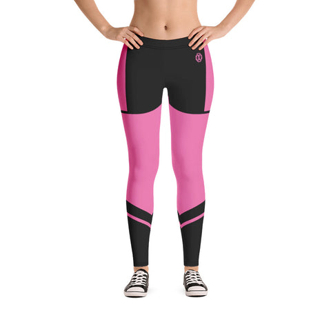 Pink Lynnx Leggings - 00LvL