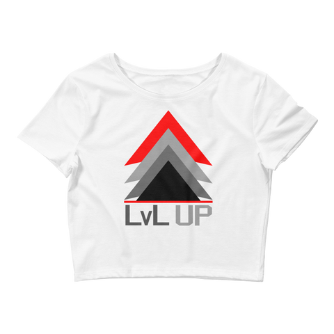 Level Up Crop Tee - 00LvL