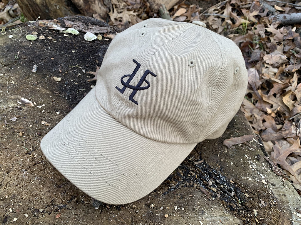 Twin Saints Leather logo canvas hat