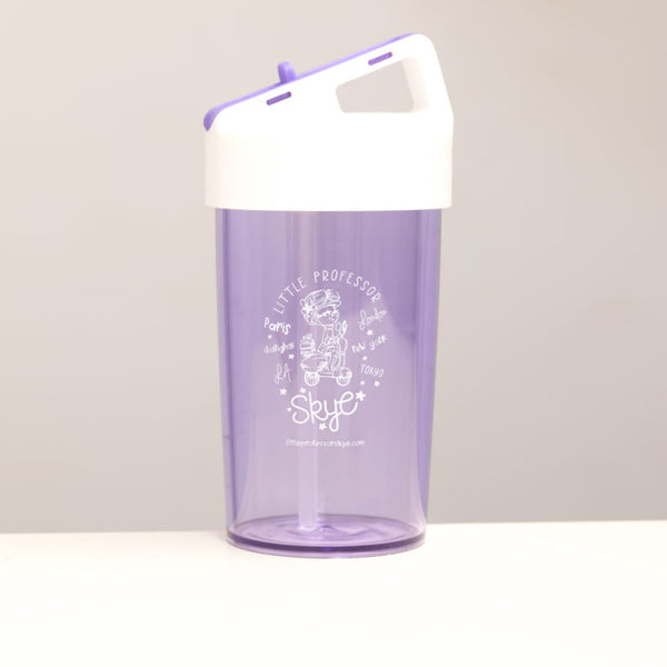 Little Professor Skye BPA Free Kids Straw Water Bottle