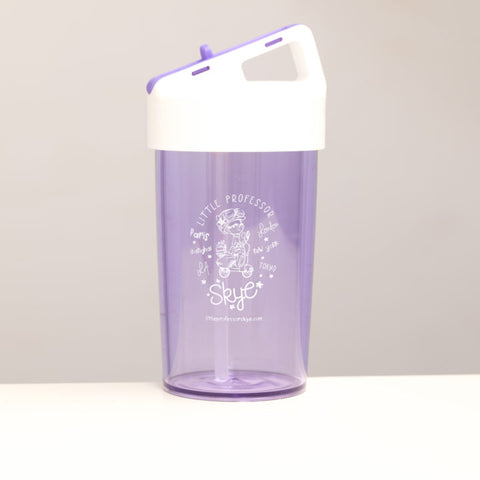 Little Professor Skye Kids Straw Water Bottle