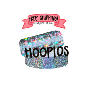 Ships Free: Hoopios Deco Tape, Pack of 10 Rolls, 1-inch x approx 200 FT [Final Sale Item]