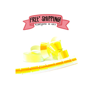 Ships Free: Paranormal Highlighter Metallic Sunburst OPAQUE Color Shifting Tape TWO (2) JUMBO ROLLS 3/4-inch x 300 FT [Final Sale Item]
