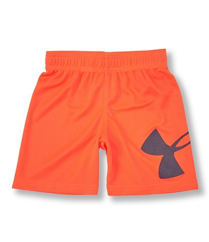 Mesh Striker Short - Orange Spark
