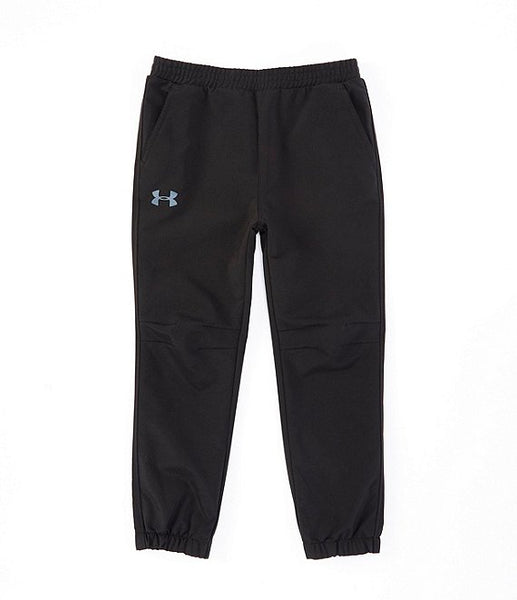 Slim Fit Pull On Jogger - Black