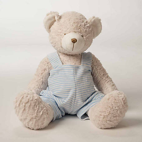 "24"" Teddy Bear w/ Blue Stripe John John"