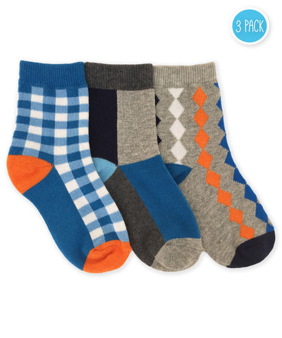Boys Multi Sock 3pk