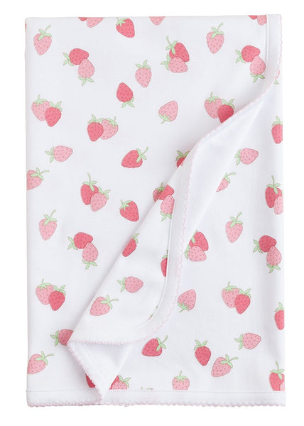 Printed Strawberry Blanket
