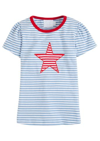 Star Applique Tee - Girl