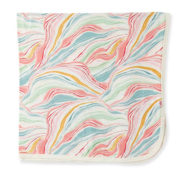 Twirls and Swirls Modal Swaddle Blanket
