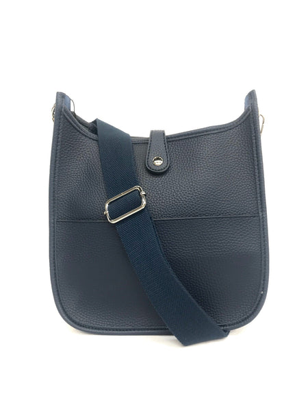 Cross Body with Changeable Strap - Navy