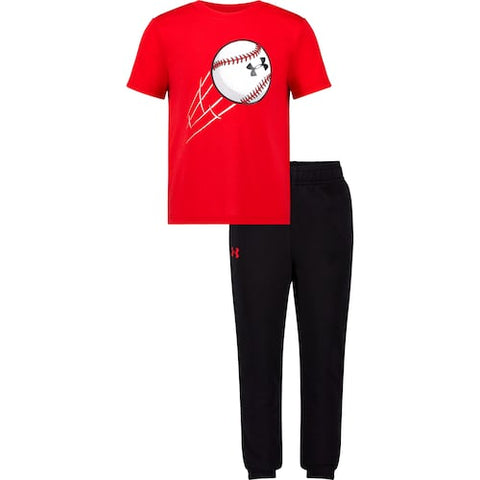 Baseball Throw Set - Red