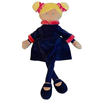 "12"" Plush Doll - Penelope - Navy Dress"