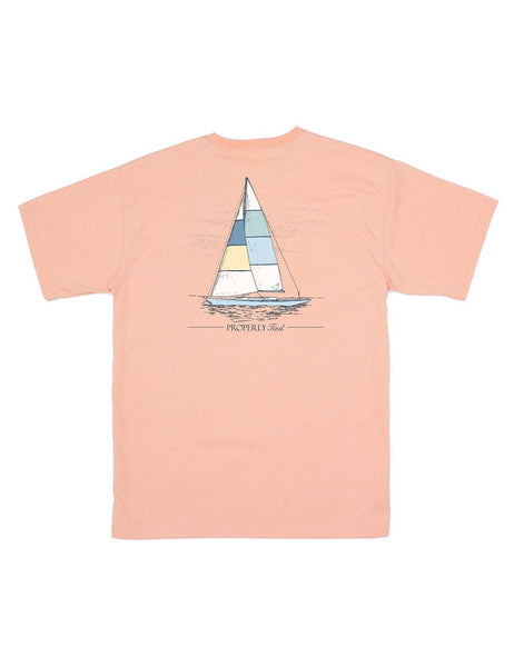 Set Sail SS - Melon Heather