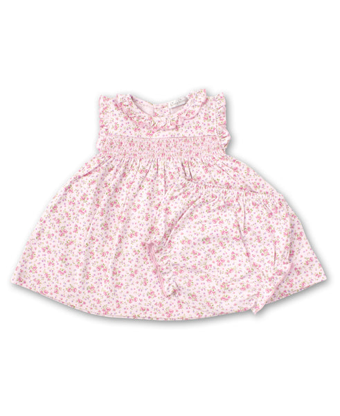 Dusty Rose Dress Set - Pink