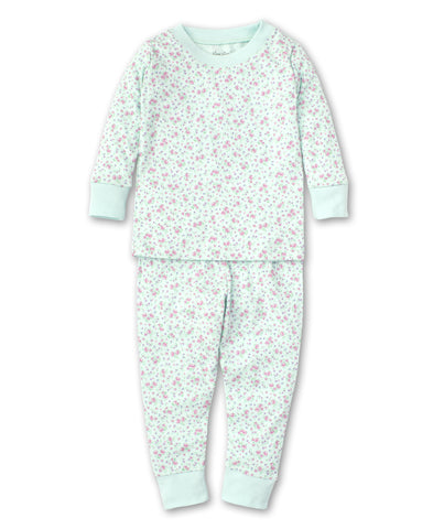 Dusty Rose Pajama Set - Mint