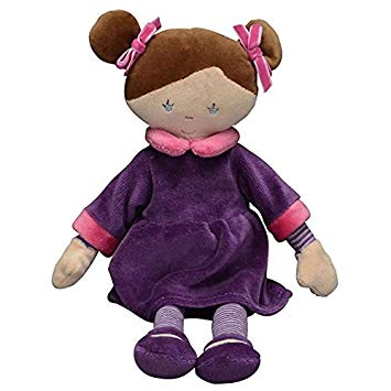 "12"" Plush Doll - Violet - Purple Dress"