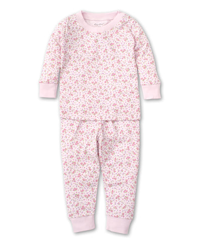 Dusty Rose Pajama Set - Pink