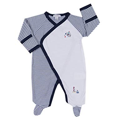 Harbor Master Stripe Footie